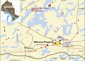 Wilcorp Project regional map