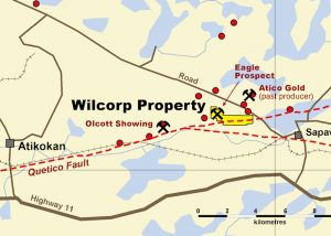 Wilcorp Project close up map
